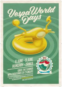 Vespa World Days 2019 - Hungary @ Hungary