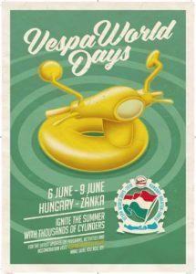 Vespa World Days 2019 - Hungary @ Hungary