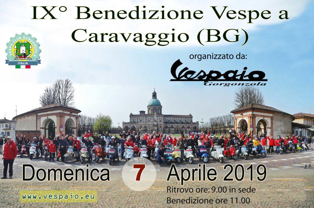 IX Benedizione Vespe a Caravaggio (BG) @ Caravaggio